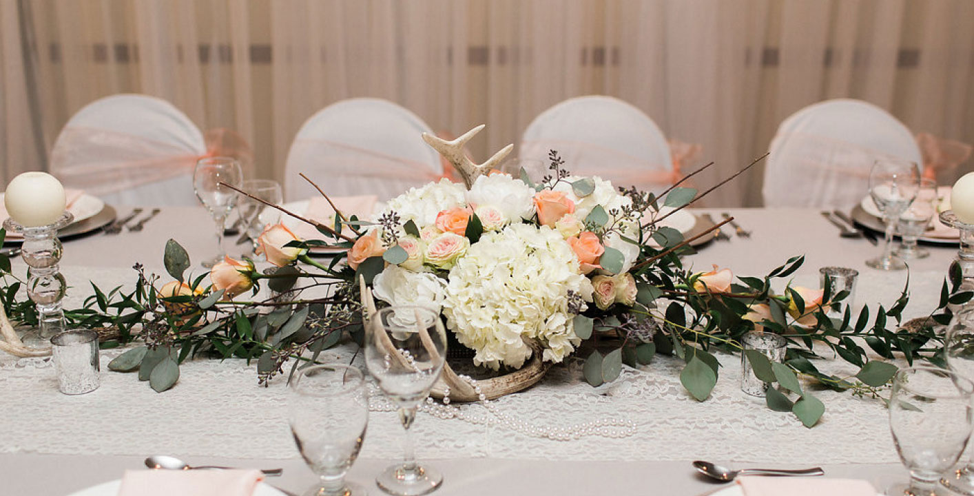 Wedding Flowers Head Table